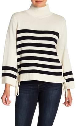Joie Lantz Wool & Cashmere Blend Striped Sweater