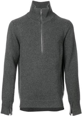 Burberry zip-neck sweater