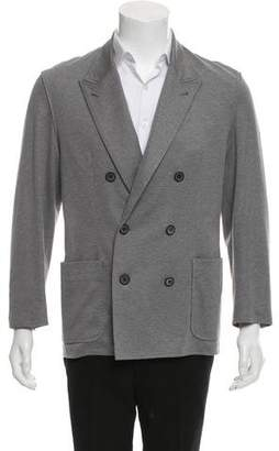 Lanvin Deconstructed Double-Breasted Sport Coat