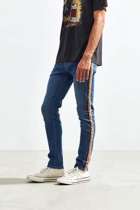BDG Indigo Side Stripe Skinny Jean
