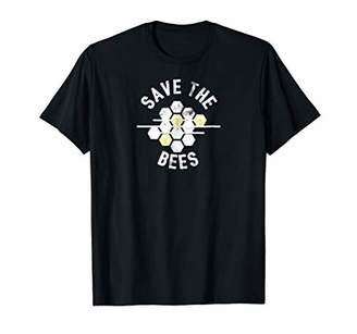 Save The Bees Natural Honey Comb Shirt