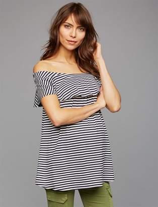 Isabella Oliver Off The Shoulder Maternity Top