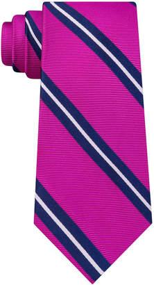 Club Room Men's Stripe Silk Tie, Created for Macy's