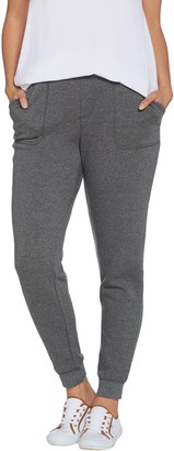 Isaac Mizrahi Live! Regular SOHO Plushed Back Jogger Pants