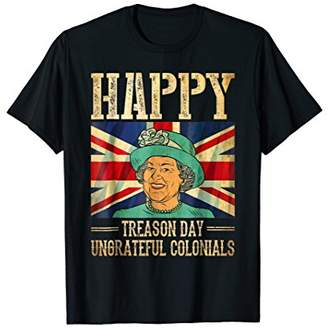 DAY Birger et Mikkelsen Happy Treason Ungrateful Colonials 4th of July T-Shirt