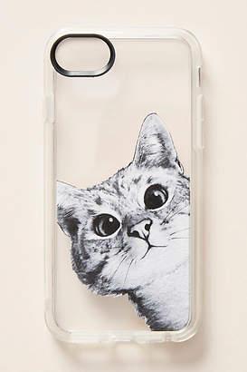 Casetify Peek-a-Boo Cat iPhone Case