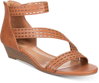 Style&Co. Style & Co Giordi Wedge Sandals, Created for Macy's Women's Shoes