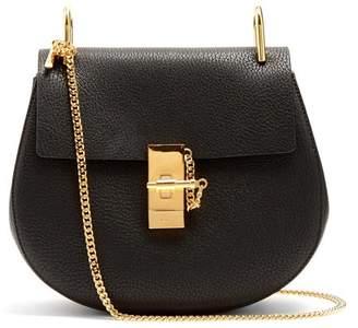 Chloé Drew Small Leather Cross Body Bag - Womens - Black
