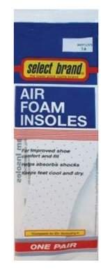 Premier Brands Of Am S/B Air Foam Insole Woms 7-8
