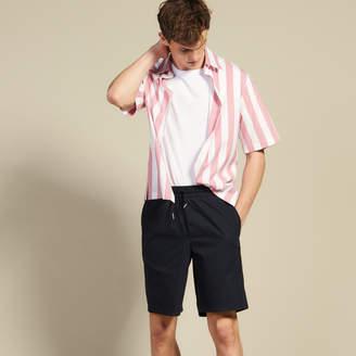 Sandro Drawstring waist Bermuda shorts