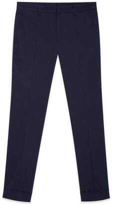 Gucci Stretch gabardine slim pant
