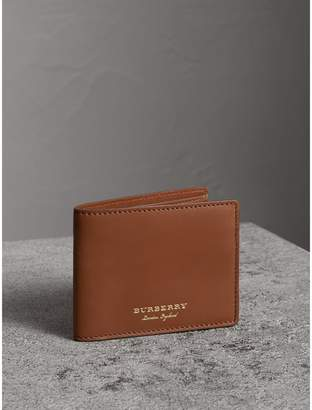 Burberry Trench Leather Bifold Wallet