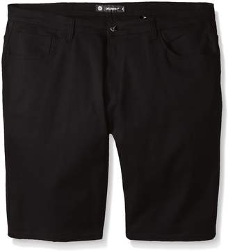 Akademiks Men's Big-Tall Big and Tall Shady Stretch Shorts