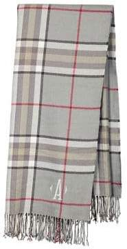 Cathy's Concepts Plaid Throw