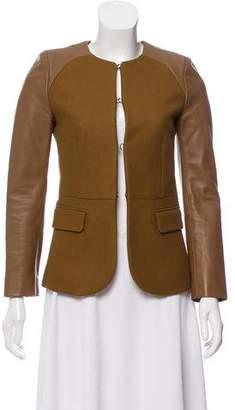 Neil Barrett Virgin Wool Structured Blazer