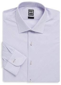 Ike Behar Contemporary Fit Cotton Dress Shirt