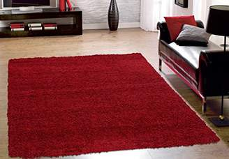Sweet Home Stores Cozy Shag Collection Solid Shag Rug