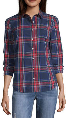 Parker PEYTON & Peyton & Long Sleeve Button-Front Shirt