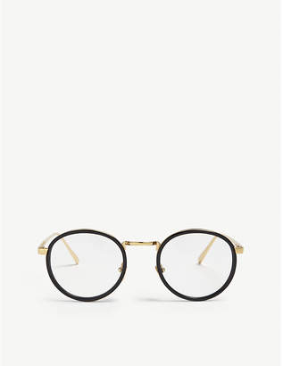 Linda Farrow LFL182 oval-frame glasses
