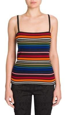 Dolce & Gabbana Striped Knit Tank