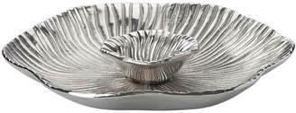 Lenox Organics Reef Metal 14In Chip N Dip Tray