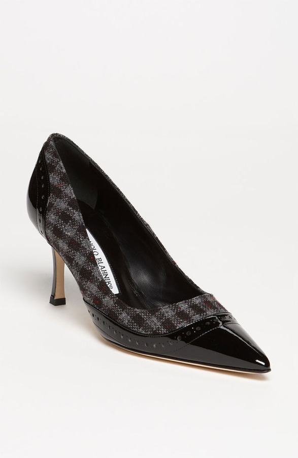Manolo Blahnik Wing Pump