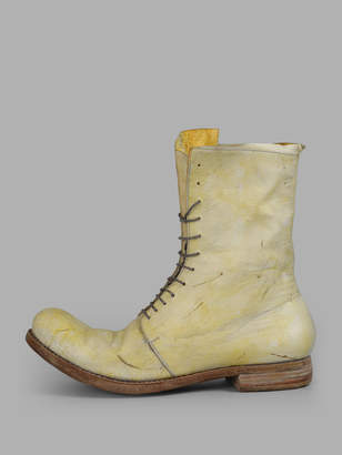 A Diciannoveventitre WOMENS PALE YELLOW BOOTS
