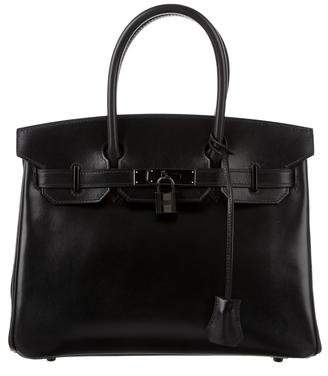 Hermes So Black Birkin 30