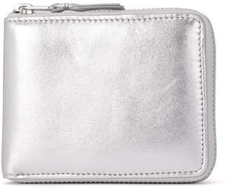Comme des Garcons Wallet Silver Leather Wallet