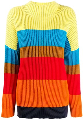 Parker Chinti & oversized ribbed sweater