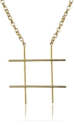 Charles Albert Alchemia Tic-Tac-Toe Necklace