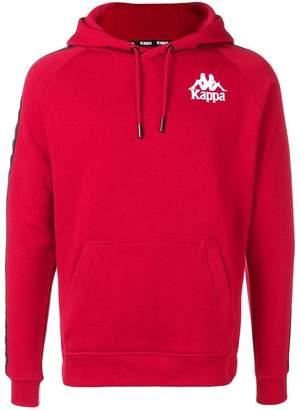 Kappa logo stripe hoodie