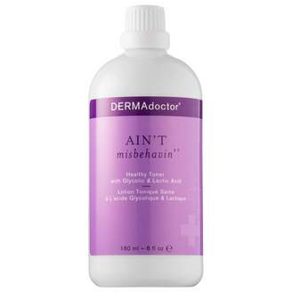 Dermadoctor Aint Misbehavin Healthy Toner with Glycolic & Lactic Acid