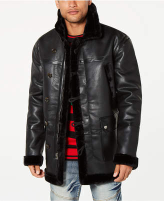 Reason Men's Jacket with Faux-Fur Lining
