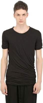 Rick Owens Double Cotton Jersey T-Shirt