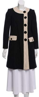 Milly Wool Blend Coat