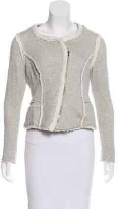 DREW Cropped Zip-Up Jacket