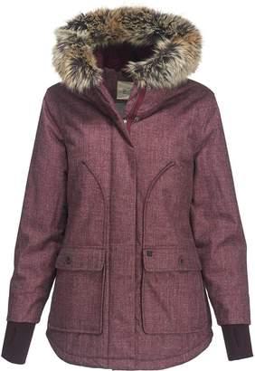 Woolrich Bitter Chill Wool Loft Hooded Down Jacket - Women's