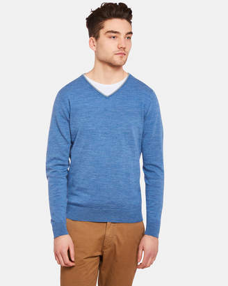 Oxford Perry V-Neck With Tipping Pulloverx