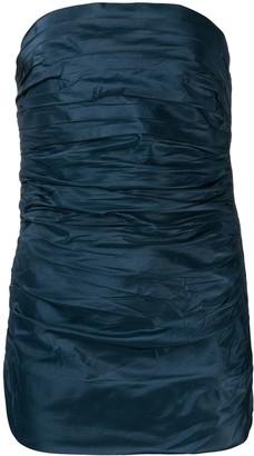 Saint Laurent Pre-Owned 1970's silk draped corset