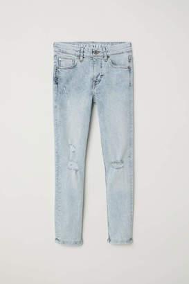 H&M Superstretch Skinny Fit Jeans - Light denim blue - Kids