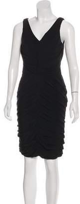 Halston Sleevless Knee-Length Dress