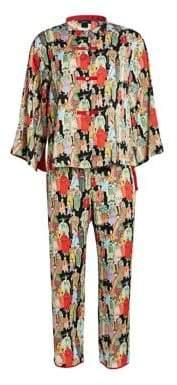 Natori Dynasty Pajamas