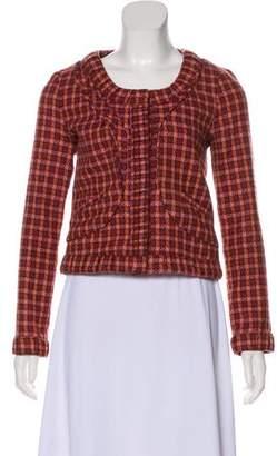 Thakoon Wool Plaid Jacket