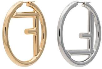 Fendi FF logo earrings