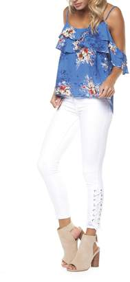 Dex Lace Up Skinny