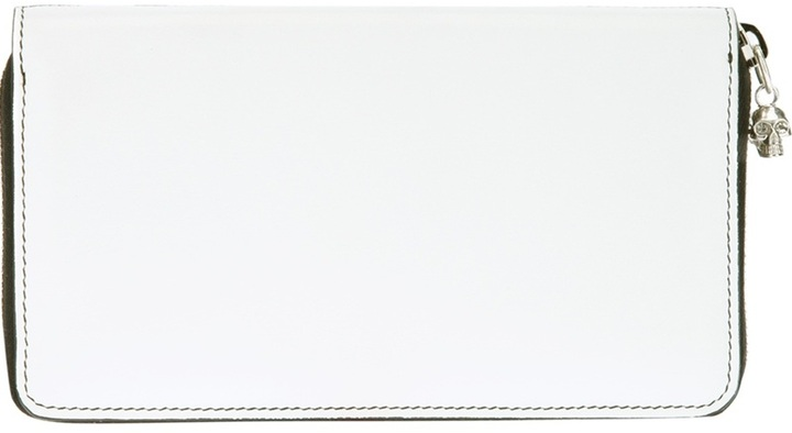 Alexander McQueen bi-colour wallet
