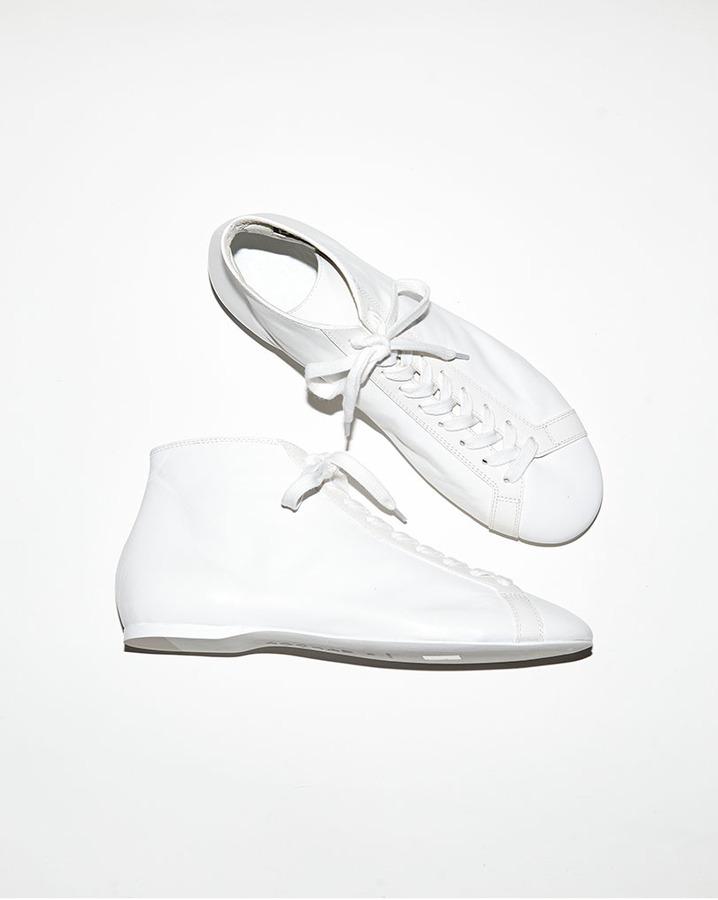 Rochas flat lace-up shoe