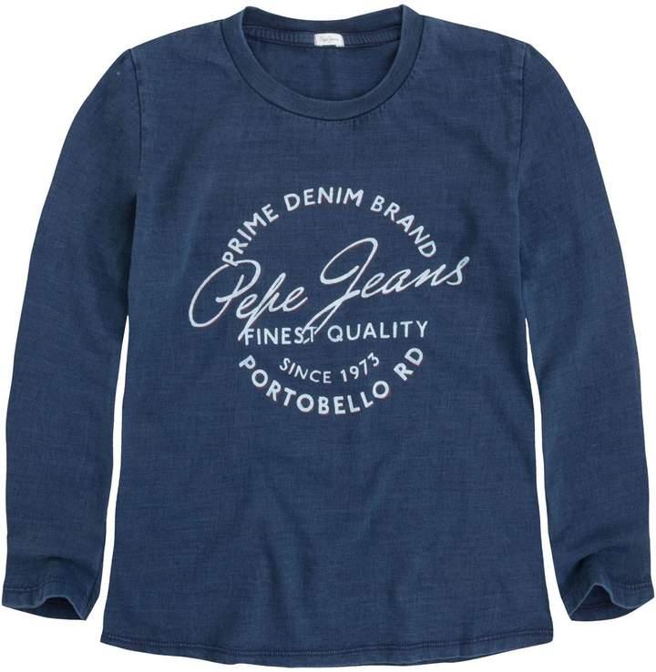 Pepe Jeans London Jess Jr - Langärmeliges T-Shirt - blau
