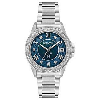 Bulova Women's Quartz Stainless Steel Casual Watch